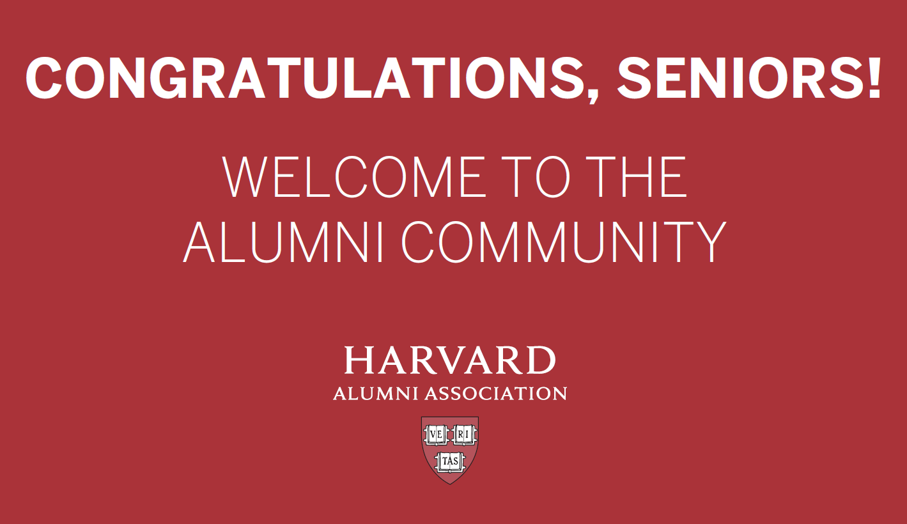 Welcome to the Alumni Community!