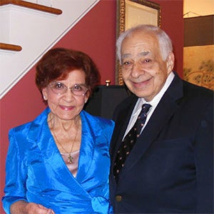 Ed and Josefina Tiryakian