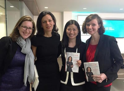 W3D members attend a book talk by Juliette Kayyem