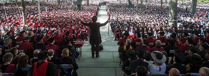 Harvard College Fund Commencement Challenge Harvard Alumni
