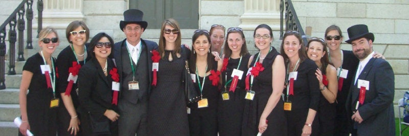 HCF Staff at Commencement 2012