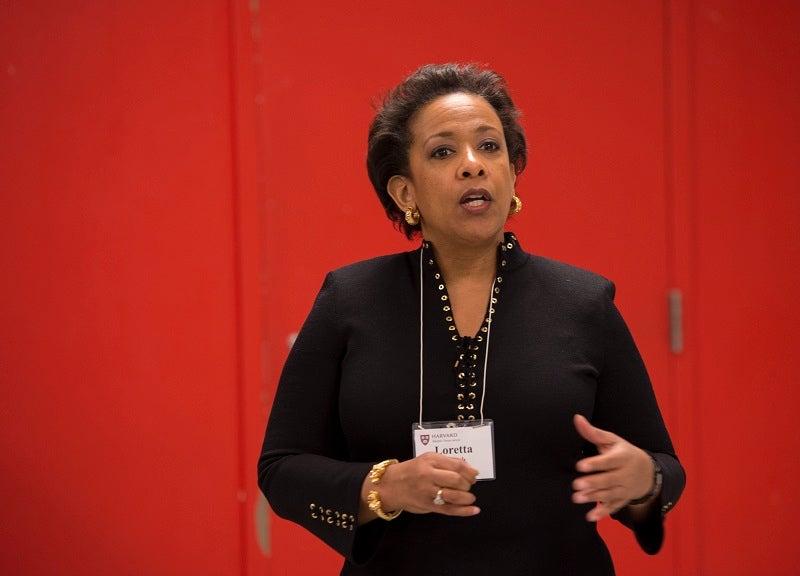 Loretta Lynch AB '81, JD '84 (Public Interest and Human Rights Law Close Encounter)