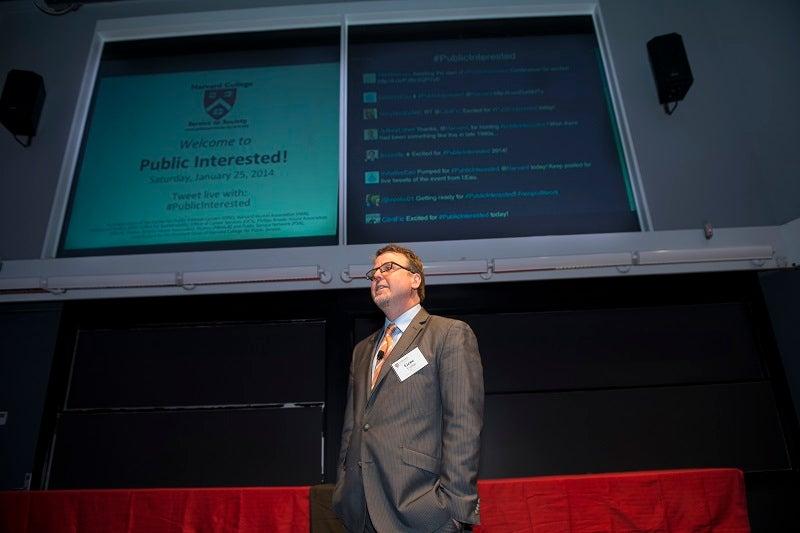 Gene Corbin MPA '01, Assistant Dean of Harvard College for Public Service—conference organizer