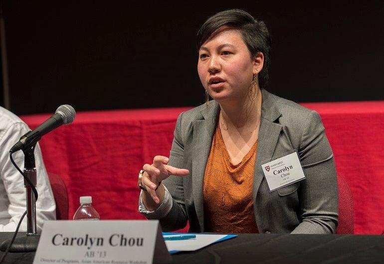 Carolyn Chou AB '13 (Lunch Panel with Recent Alumni)