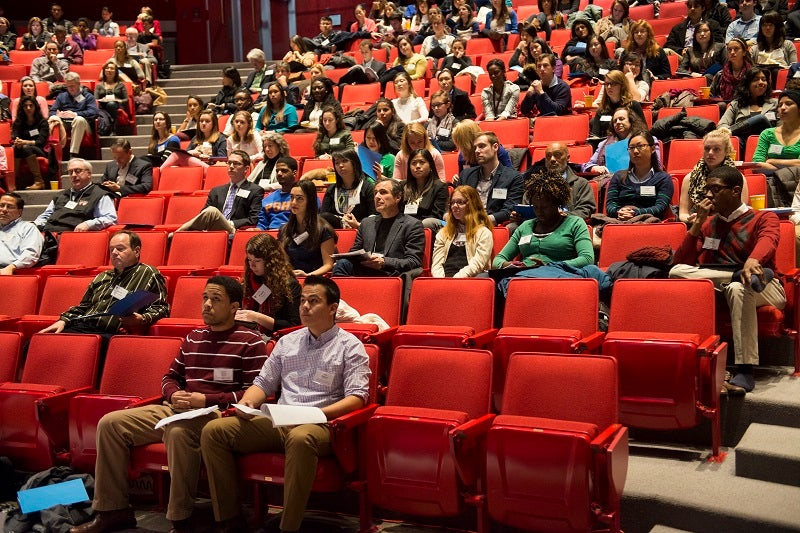 Students attend the 2014 Public Interested Conference