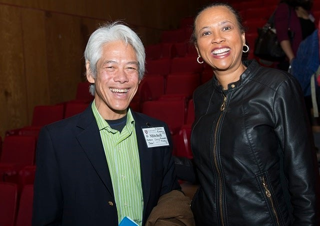 Mitchell Dong AB '75 and Cheryl Dorsey '85, MD92, MPP92 (Keynote Speaker)