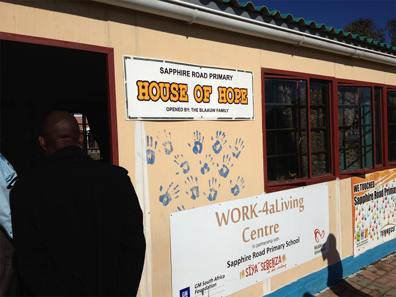 Parent and community engagement centre at one of the community schools