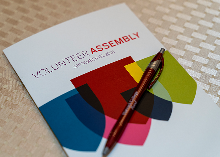 Volunteer Assembly 2018
