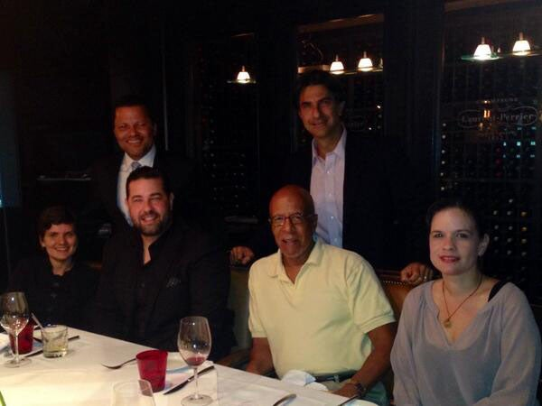 Alumni gather for Global Networking Night in Santo Domingo, Dominican Republic.