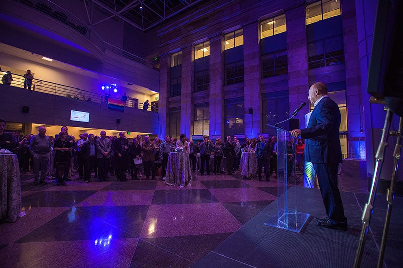 Celebrating the dedication of the Blavatnik Institute at Harvard Medical School