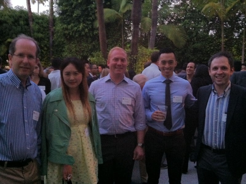 Alumni at Global Networking Night in Los Angeles, CA.