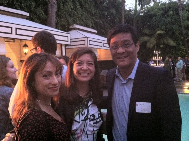 Attendees at Global Networking Night in Los Angeles, CA. Over 5,500 alumni attended GNN events worldwide in June.