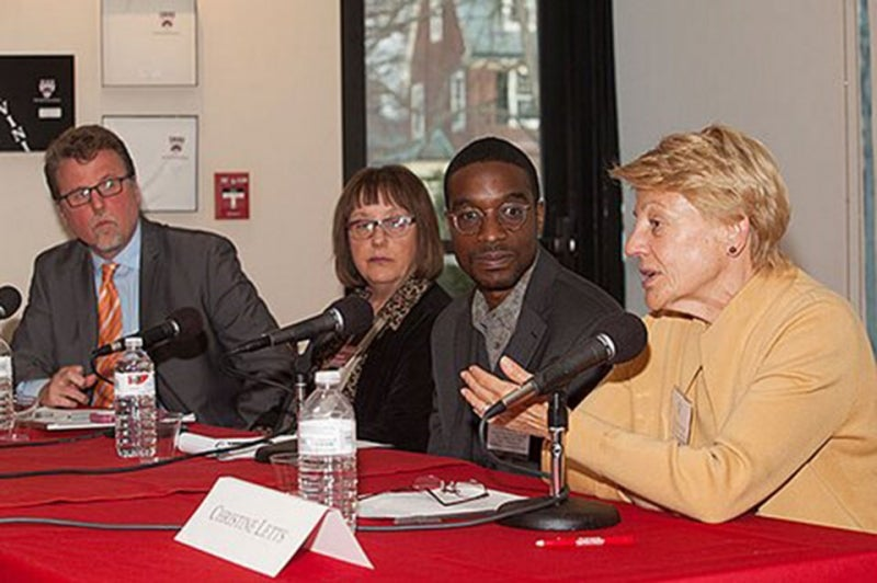 Harvard Global Month of Service Kickoff Panel.