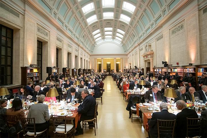 President's Associates Dinner 2018 in Widener