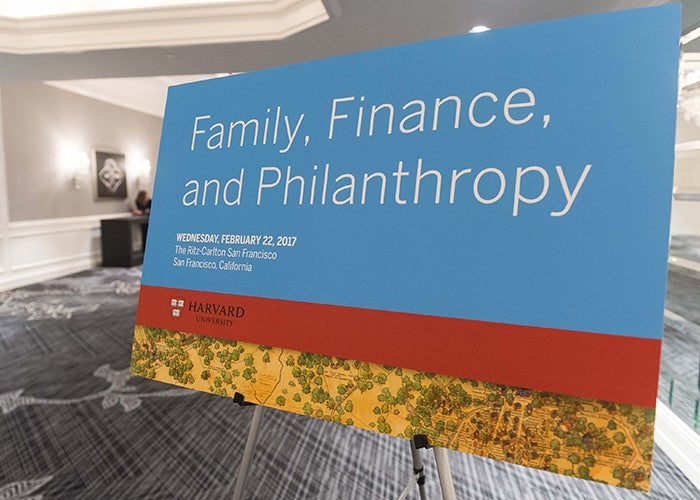 Family, Finance, and Philanthropy in San Francisco 2017