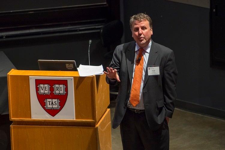 Gene Corbin, Assistant Dean of Harvard College for Public Service.
