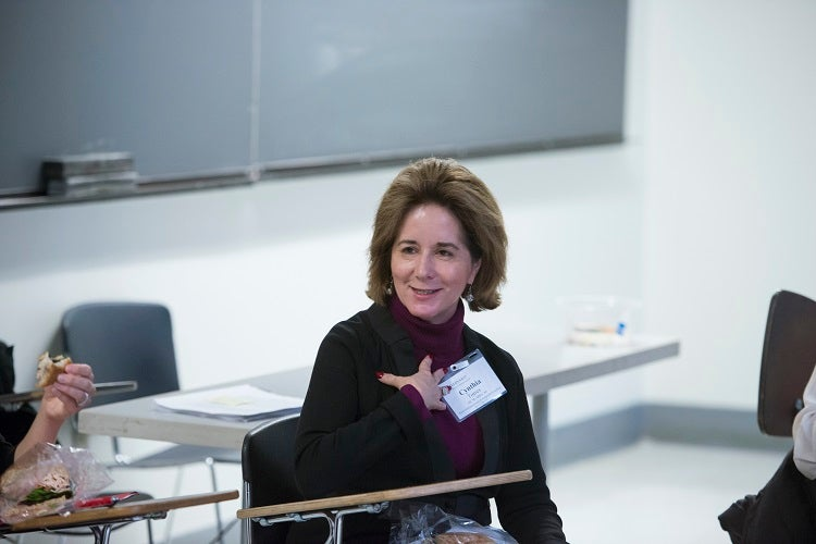 Cynthia Torres AB '80, MBA '84, President of the Harvard Alumni Association.