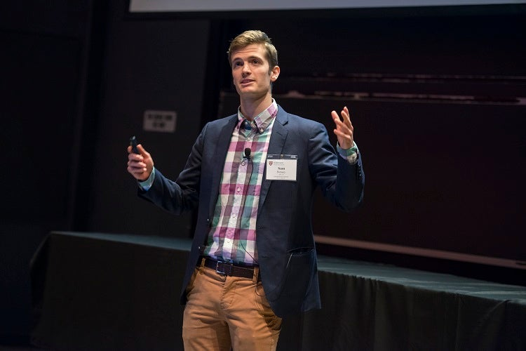 Sam Bonsey AB '10 dicusses his work with the 2Seeds Network.