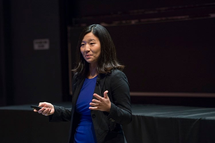 Michelle Wu AB '07, JD '12 discusses how she practices public service as a Boston City Councilor.