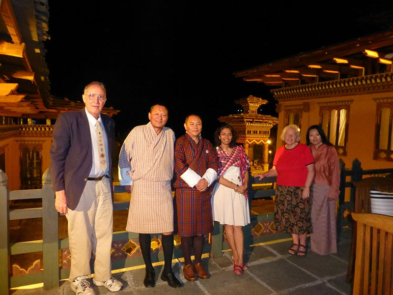 Alumni attendees of Global Networking Night in Thimphu, Kingdom of Bhutan.