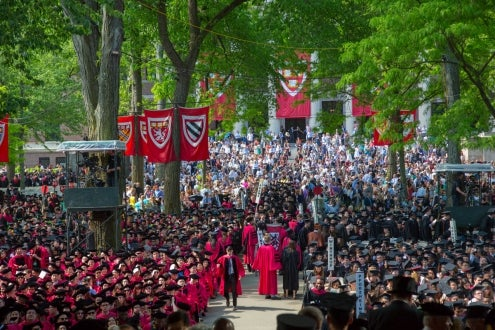 Harvard's 366th Commencement
