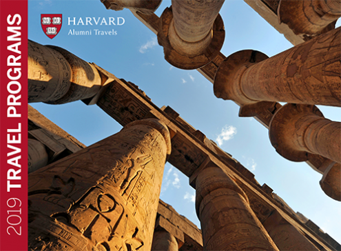 Introducing Harvard Alumni Travels 2019 Catalog