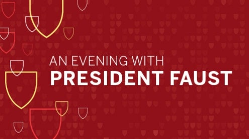 An Evening with President Faust