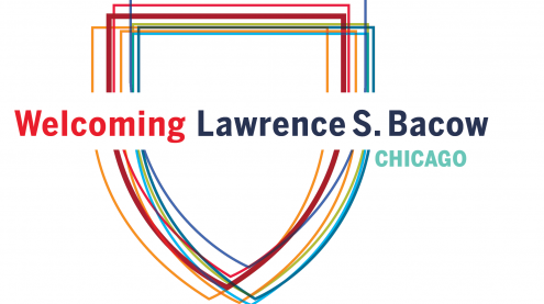 Photo: Welcoming Larry Bacow to Chicago on June 10th
