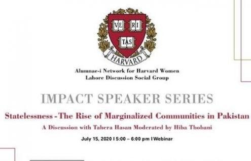 ANHW impact speaker series