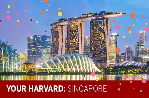 Join us for Your Harvard: Singapore