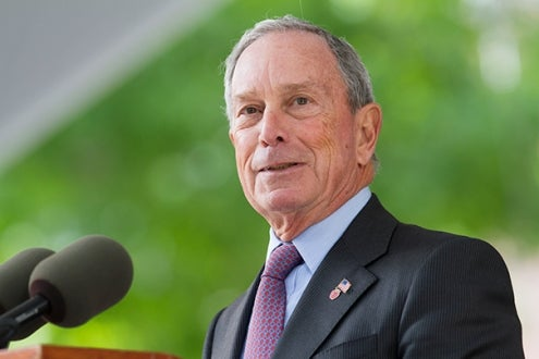Gift by Michael Bloomberg, M.B.A. '66