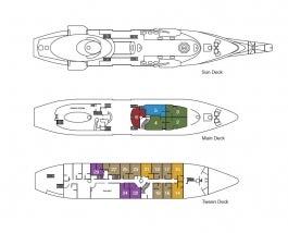 <em>Running on Waves</em> deck plan