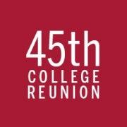 45th Reunion