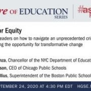 HGSE's Future of Education: Leading for Equity