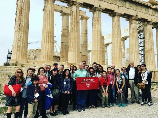 Harvard Alumni Travels Spring Break Trip to Greece