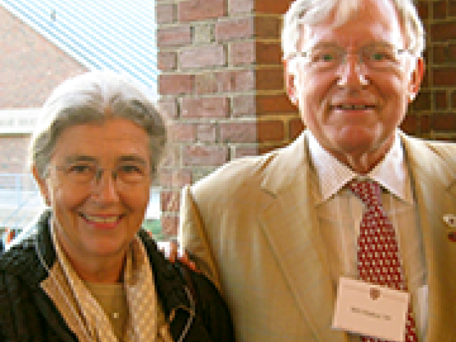 William E. Markus '60 and his wife, Carole