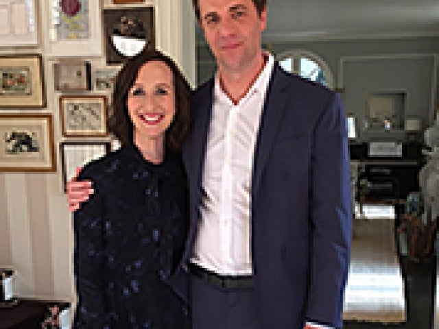 Francesca Delbanco '95 and Nick Stoller '98