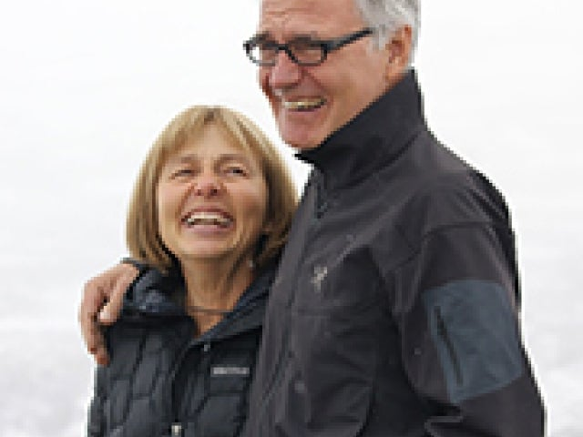 Photo of Cyndie and Art Warbelow