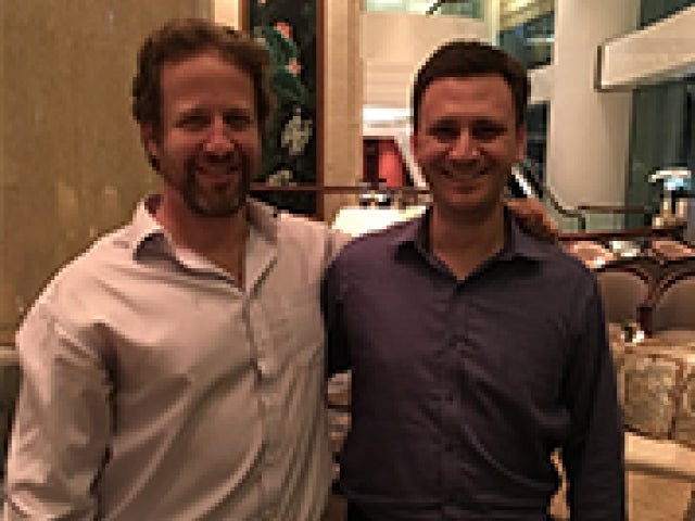 Andrei Cherny '97 and Joe Sanberg '01
