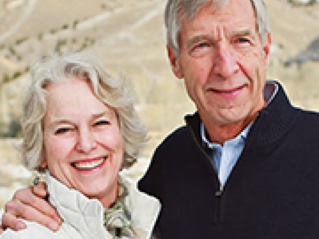 John French '66, MBA '74, P'06, '02, '98 and his wife Elaine EdM '73