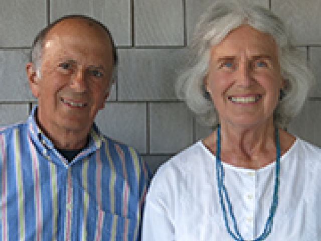 Tony '57, MBA '59 and Cynthia Lamport P'89, '90