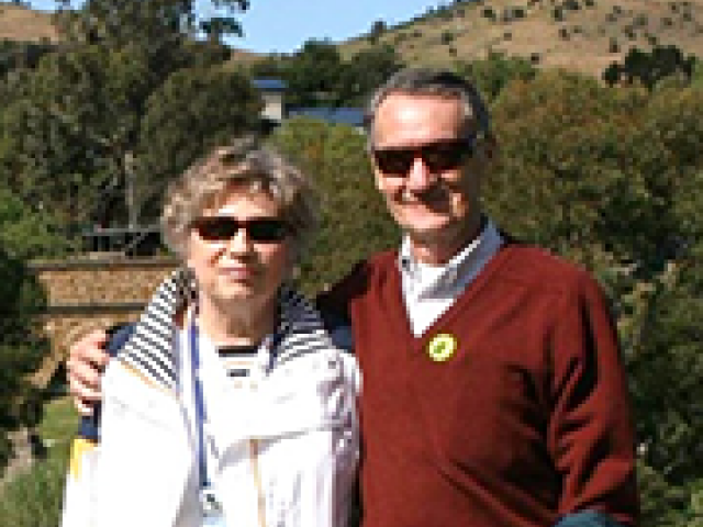 William '56, MBA '58 and Carol Pierskalla