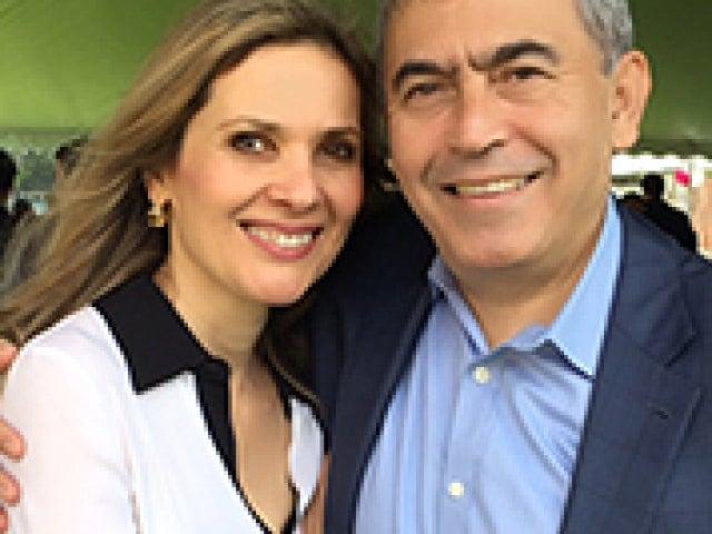 Susan and Masoud Katiraei P'15