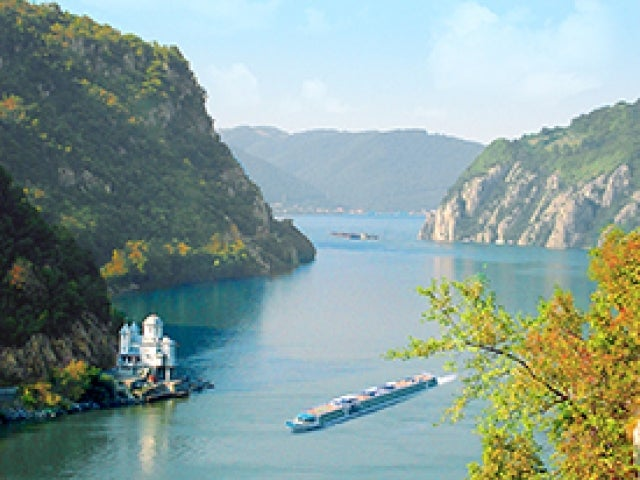 Danube River near Iron Gate