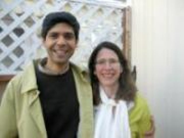 Ani Patel and Jennifer Burton