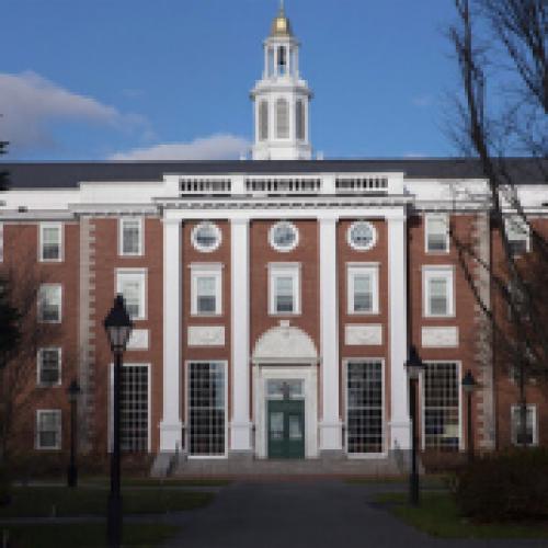 Baker Library at Harvard Business School