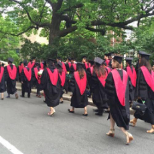 Harvard Medical School graduates in 2017