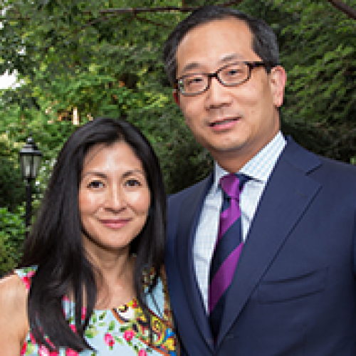 Kewsong Lee '86 and Zita J. Ezpeleta '88