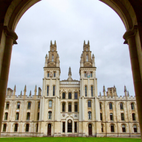 All Souls College at Oxford University