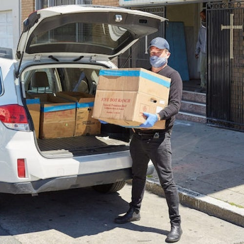 Restaurants and community organizations partner to deliver meals in San Francisco through SF New Deal.